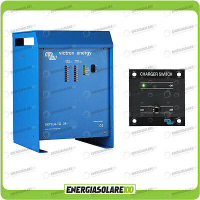 Kit Caricabatteria Skylla TG 24V 30A Victron Energy con interruttore remoto