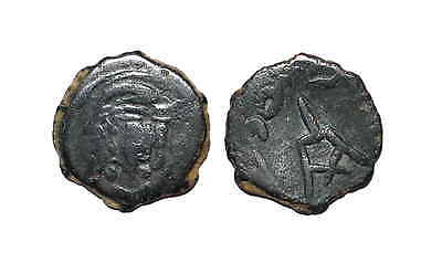 8455 Chach AE coin, Unknown ruler.