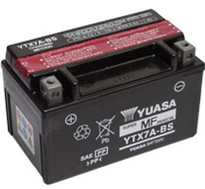 Yuasa Ytx7A-Bs - 12V 6Ah For Motorcycle, Motorbike, Quad Bike, Jet Ski