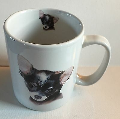 Chihuahua Mug Ceramic Dog Lover Large Coffee Cup Puppy Breed White