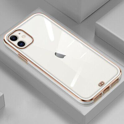 For iPhone 7 6s Plus Ultra-thin Shockproof Full Protective Hard Back Case Cover