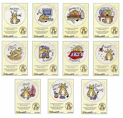 Mouseloft Mini Counted Cross Stitch Kit - Biscuit The Cat