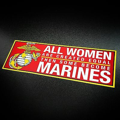 Women Marines - Sticker
