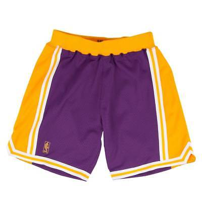 Mitchell & Ness Los Angeles Lakers 1996-1997 Authentic NBA Shorts Lila