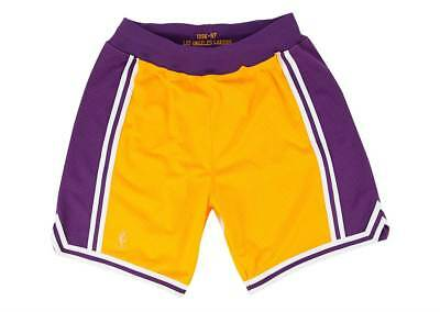 Mitchell & Ness Los Angeles Lakers 1996-1997 Authentic NBA Shorts Gelb