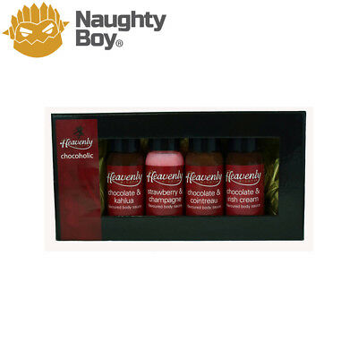Heavenly Nights Chocoholics Kit (4) by Heavenly Body Sauces