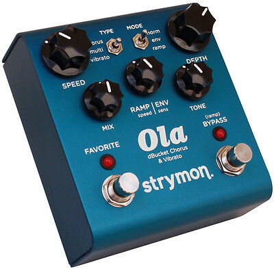 Strymon Ola dBucket Chorus & Vibrato Made in USA NEU NEW