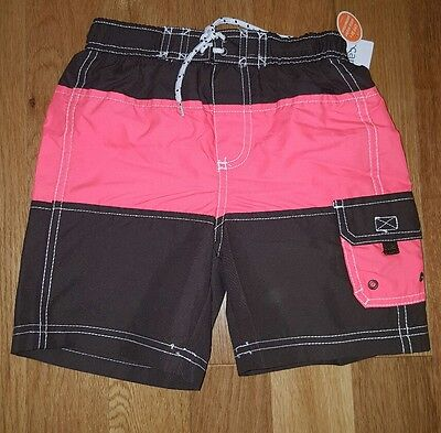 New Carter's Boys Swim Trunks Swimsuit Bathing Suit Size 5T NWT