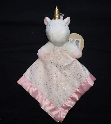NWT Target Limited Edition Plush Unicorn White Pink Baby Security Blanket Lovey