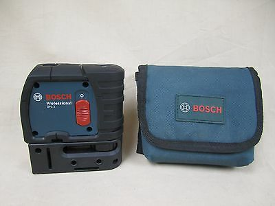 *PREOWNED* Bosch Professional GPL 2 Self-Leveling 2 Point Laser