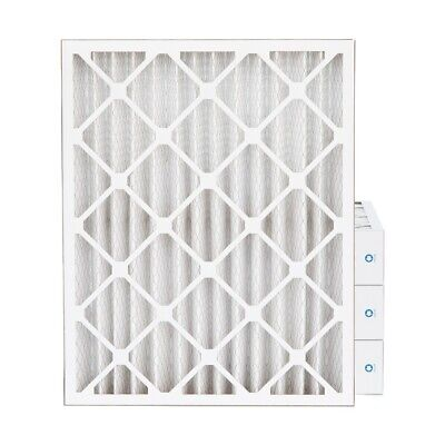 "16x20x4 MERV 8 Pleated AC Furnace Air Filters. 4 Pack (Actual Depth: 3-3/4"")"