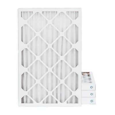 14x25x2 MERV 8 Pleated AC Furnace Air Filters. 4 Pack