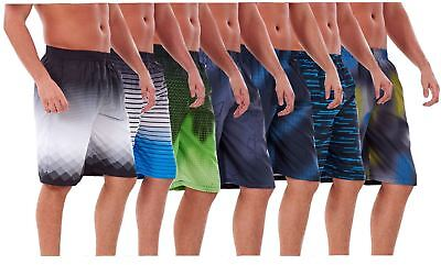 Men's Quick Dry Swimming Shorts New Printed Mesh Lined Beach Summer Swimwear
