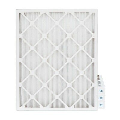 16x20x2 MERV 8 Pleated AC Furnace Air Filters. 4 Pack