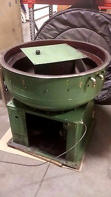 Walther Trowal #CM-245, circular vibratory finisher