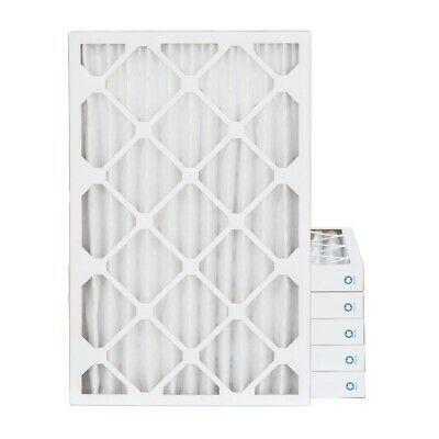 16x24x1 MERV 8 Pleated AC Furnace Air Filters. 6 Pack