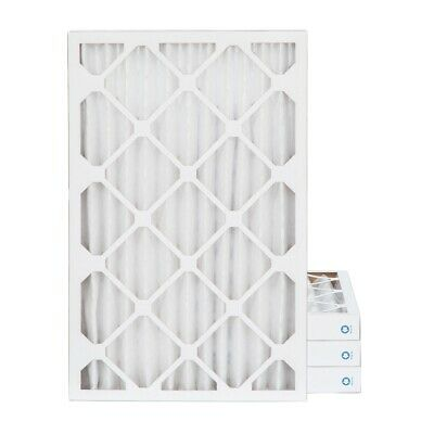 16x24x2 MERV 8 Pleated AC Furnace Air Filters.  4 Pack