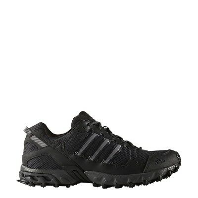Men's Adidas Rockadia Trail Black Sport Athletic Running Shoes BY1791 Sz 7-15