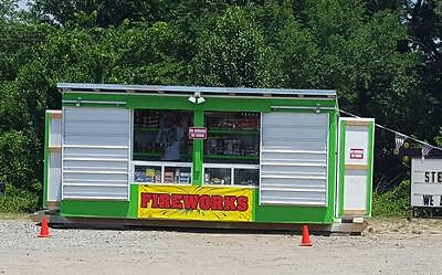 Retail FIREWORKS Business - New Retail Stand AND Custom GN Trailer for Moving It