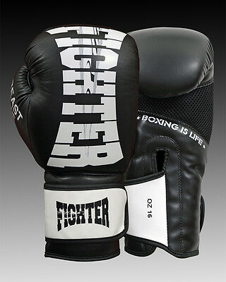 Leather Boxing Gloves Muay Thai Punching Bag Sparring Glove Kick Boxing MMA 655ea63c6cea0