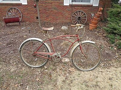 5ec258df96c Vintage Schwinn Jaguar 3 Speed Bicycle 1960 Boys 26 Inch Good Original Barn  Find