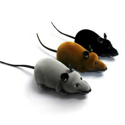 1pcs Lovely RC Wireless Remote Control Rat Mouse Toy for Pet Cat Dog Play