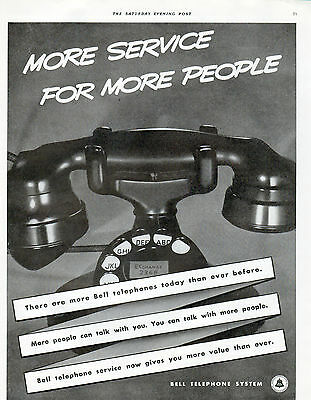 1938 Bell Telephone ad -0-783