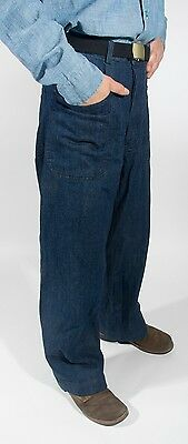WWII Navy Dungaree Trousers, Size 34, New