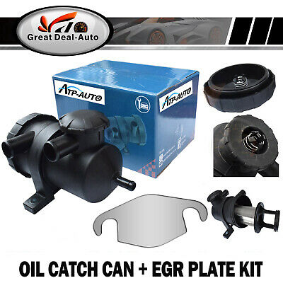 Fit For Ford Ranger PJ PK Pro Turbo 4WD 200 Oil Catch Can + EGR Plate