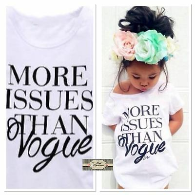 More Issues Than Vogue White & Black Baby Dress ONLY BoHo Dress Baby Sizes 9M-2T