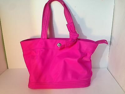 Authentic Kate Spade  Pink Flatiron Sophia Grace Diaper Bag With Changing Pad