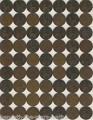 British One Penny Coins - Edward - In Near Fine Condition, Choose Your Dates!!!