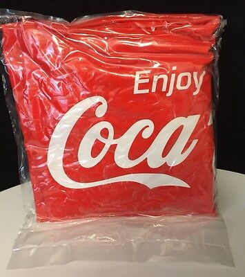 Vintage ENJOY COCA-COLA COKE promo INFLATABLE BEACH BALL In Pkg W/0 Tag