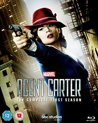 Marvel's Agent Carter - Season 1 [Blu-ray] [2015] [Region Free] [DVD][Region 2]