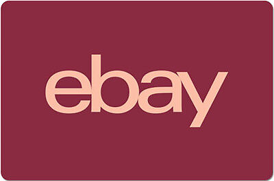 $15 eBay Gift Card - One card,  so many options.  Fast email delivery