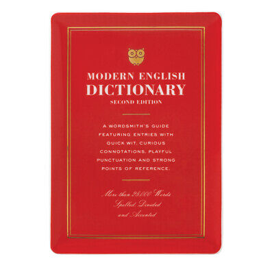 NEW Kate Spade A Way With Words Dictionary Tray