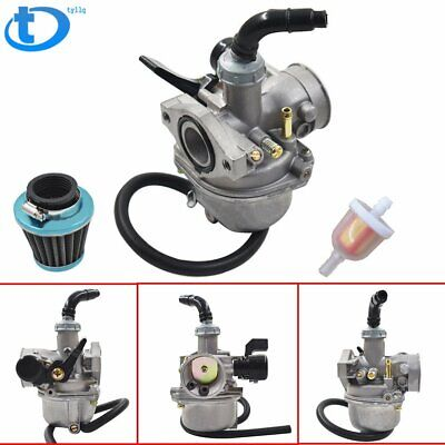 Carburetor W/ Air filter For 50cc 70cc 90cc 110cc ATV Dirt Bike Go Kart Carb US