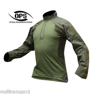OPS / UR-TACTICAL GEN 2 Improved DA combat shirt in RANGER GREEN-LARGE REGULAR