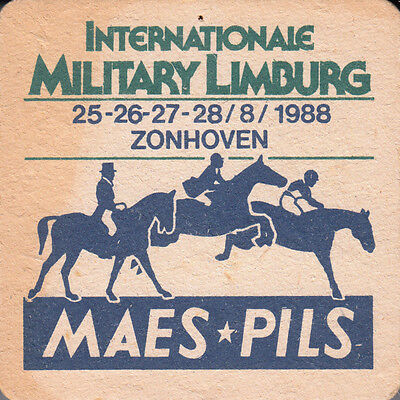 "Sous-Bock Ancien ""maes Pils / International Military Limburg"""