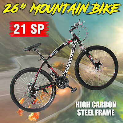 700C Road Bicycle/ MTB Mountain Bike 26inch Shimano Gears 21-Sp Disc Brake Bike