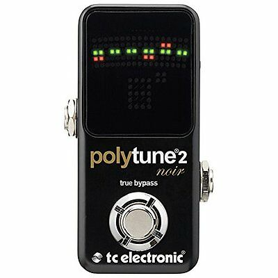 TC Electronic Polytune Noir Mini 2 Pedal Tuner Japan new.