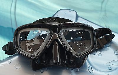 WILCOMP Scuba Diving Mask with Optical Corrective Lenses WIL-DM-50 (+2.5)