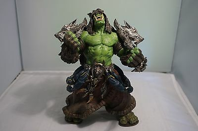 World of Warcraft Action Figure Orc Shaman Rehgar Earthfury Complete