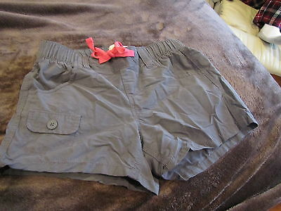 Girl's Old Navy Gray Cotton Shorts Size Large (10/12) - Great Condition