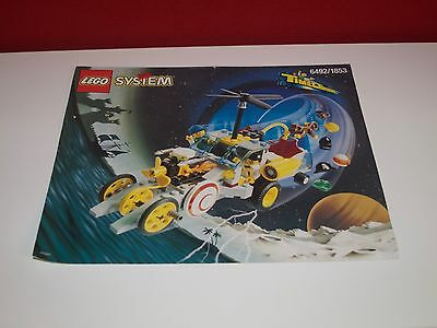 Lego 6492 Time Cruisers Hypno Bauanleitung, only Instructions Manuel,ohne Steine
