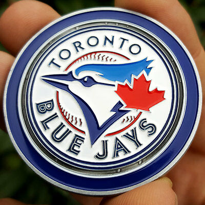 PREMIUM MLB Toronto Blue Jays Poker Card Protector Collect Coin Golf Marker NEW