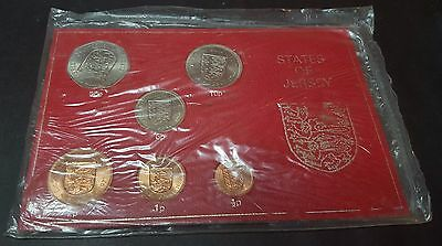 1968 States of Jersey Coin Set