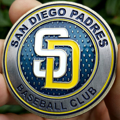 PREMIUM MLB San Diego Padres Poker Card Guard Chip Protector Coin Golf Marker