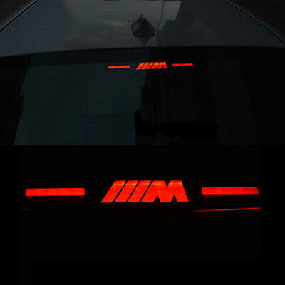 Black Brake Light Sticker for BMW M 3 Series E46 E90 E92 E93 E30 E35 E80 F31