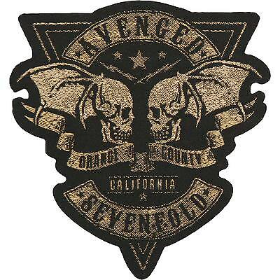 Avenged Sevenfold Men's Orange County Cut Out - WOVEN  PATCH - free shipping